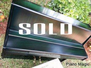 dietmann, Piano, magic, second, hand, green, gloss, exotic, restored, for, sale, buy, beautiful, johannesburg, gauteng, north, west
