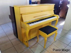 fritz-kuhla-piano-magic-matte-yellow-unique-used-restored-buy-new-sale-sandton-5-bloemfontein