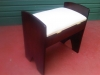 Piano Stool - 2legged- Brown