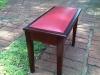 Piano Stool - 4legged- Brown